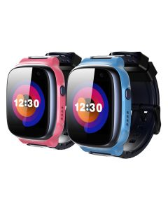 360 Kids Smart Watch E1 (4G/LTE, IPX8, Patch Trace, Video call, 1 Click SOS)