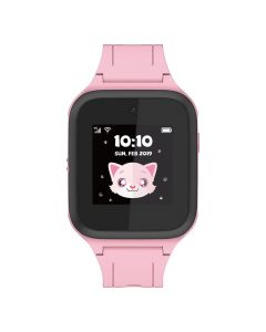 Alcatel MT40 Movetime Kids Family Watch 4G/LTE Pink front