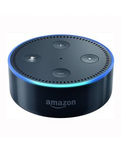Amazon Echo Dot 2nd Generation Smart Speaker with Alexa - Black - main