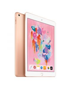 "[Open Box - As New] Apple iPad 2018 A1954 9.7"" Cellular 128GB - Gold all"