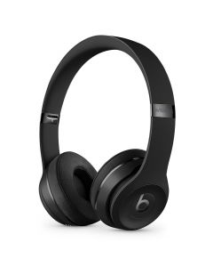 Beats Solo3 Wireless On-Ear Headphones Gloss Black front