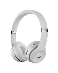 Beats Solo3 Wireless On-Ear Headphones Satin Silver front
