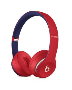 Beats Solo3 Wireless On-Ear Headphones Club Collection - Red -main