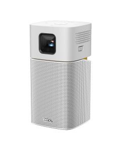 BenQ Portable Projector with Wi-Fi and Bluetooth Speaker GV1 - Grey/Silver-main