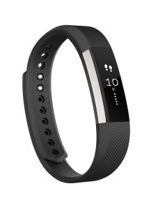 Fitbit Alta Activity Tracker Extra Large - Black Silver - Main