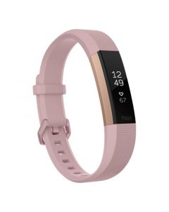 Fitbit Alta HR Fitness Tracker Large - Rose Gold - Front Side