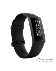 Fitbit Charge 4 Fitness Tracker - Black-main