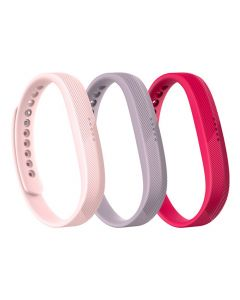 Fitbit Flex 2 Acc 3 Pack Small FB161AB3PKS - Pink - main
