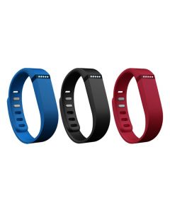 Fitbit Flex Band 3 Pack Classic Small FB401BNRBS - Navy, Red and Blue-main
