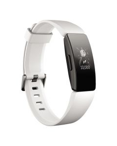 Fitbit Inspire HR Heart Rate + Fitness Tracker - White Main