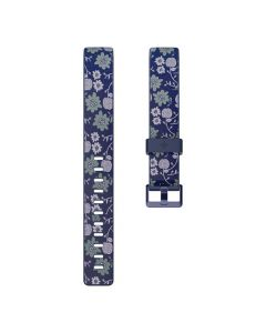 Fitbit Inspire Print Band Small FB169PBNVS - Bloom - main