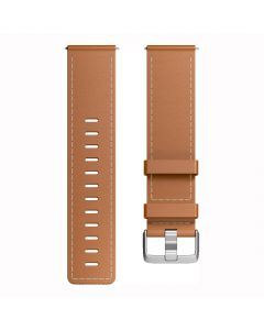 Fitbit Versa band Leather FB166LBBRL Large -  Saddle Stitch -main