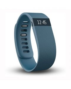 Fitbit Charge Wireless Activity Wristband Blue - Extra Large - main