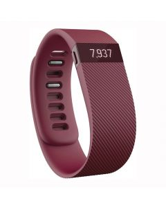 Fitbit Charge Wireless Activity Wristband Burgundy - Large - main