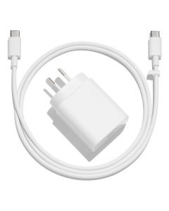 Google 18W USB-C Fast Charging Power Adapter White all