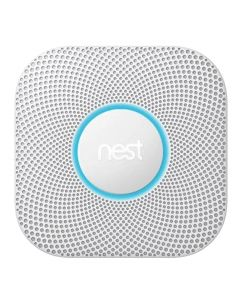 Google Nest Protect Wired Smoke and CO Alarm S3003LWAU - White-main