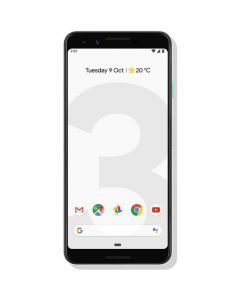 """Google Pixel 3 (5.5"""", 64GB, SD 845) - Clearly White - Front"""