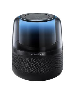 Harman Kardon Allure Voice-Activated Speaker - Black Front