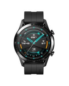 Huawei Watch GT 2 Sport 46mm Smartwatch Matte Black front