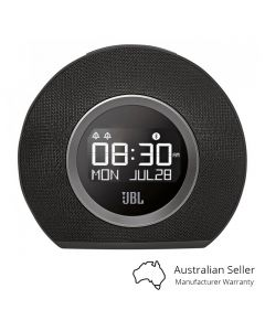 JBL Horizon Bluetooth Clock Radio with USB Charging and Ambient Light - Black front