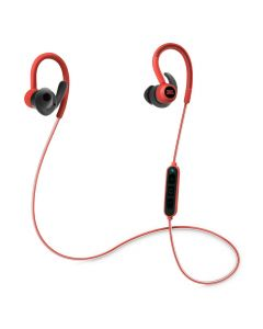 JBL Reflect Contour Wireless Sport In-Ear Headphones Red front
