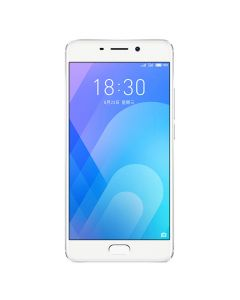 """[Good Condition - Pre Owned] Meizu M6s (5.7"""", Dual SIM 4G/3G, 32GB/3GB) - Silver-front"""
