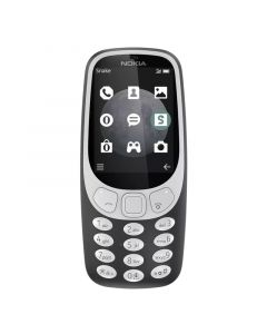 Nokia 3310 - Charcoal Front