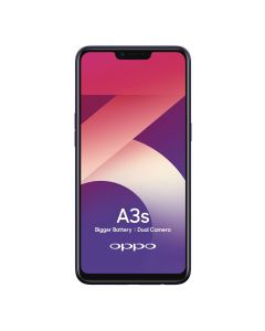 OPPO A3s (Dual Sim 4G/3G) - Purple Front