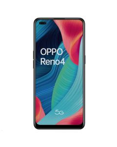 "Oppo Reno 4 5G (Dual Sim 4G/5G, 6.43"", 48MP, 128GB/8GB) - Space Black-front"