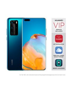 "Huawei P40 Pro (Dual SIM 5G, 6.58"", 50MP) - Deep Sea Blue"