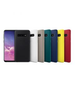 Samsung Galaxy S10 Leather Rear Cover