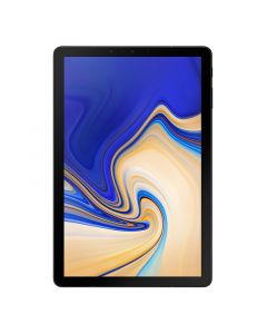 "Samsung Galaxy Tab S4 (10.5"", 256GB, Wi-Fi + 4G, Opt) with S-Pen - Black front"