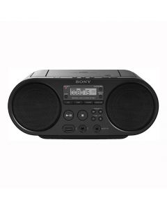 Sony ZS-PS50 - CD Boombox with AM/FM Radio Tuner and USB Playback - Black - main