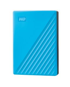 WD My Passport 4TB Portable Hard Drive USB 3.0 WDBPKJ0040BBL-WESN - Blue-main