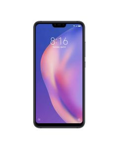 Xiaomi Mi 8 Lite (Dual Sim 4G, 64GB/4GB) - Midnight Black Fornt